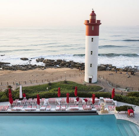 5* The Oyster Box Hotel, Umhlanga for 2 nights from R4200 per person sharing - Self drive